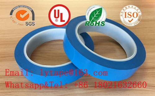 Polyester (PET) film insulation mylar tape(light blue)